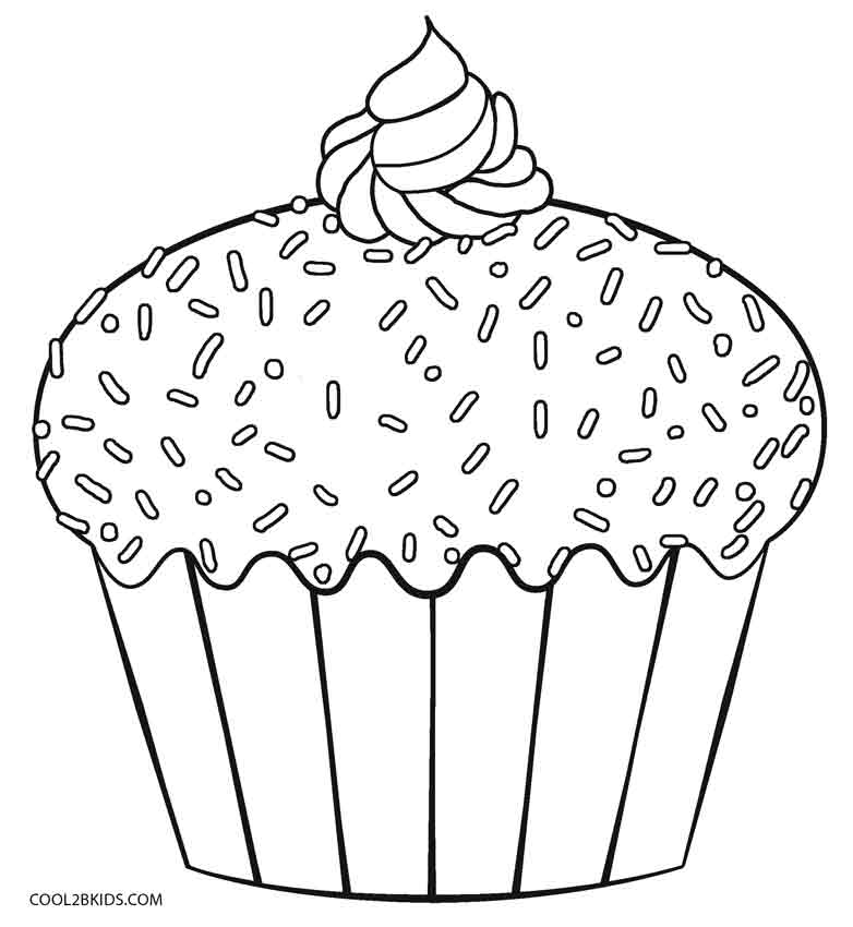 coloring pages cupcakes cup cake coloring pages coloring home coloring cupcakes pages