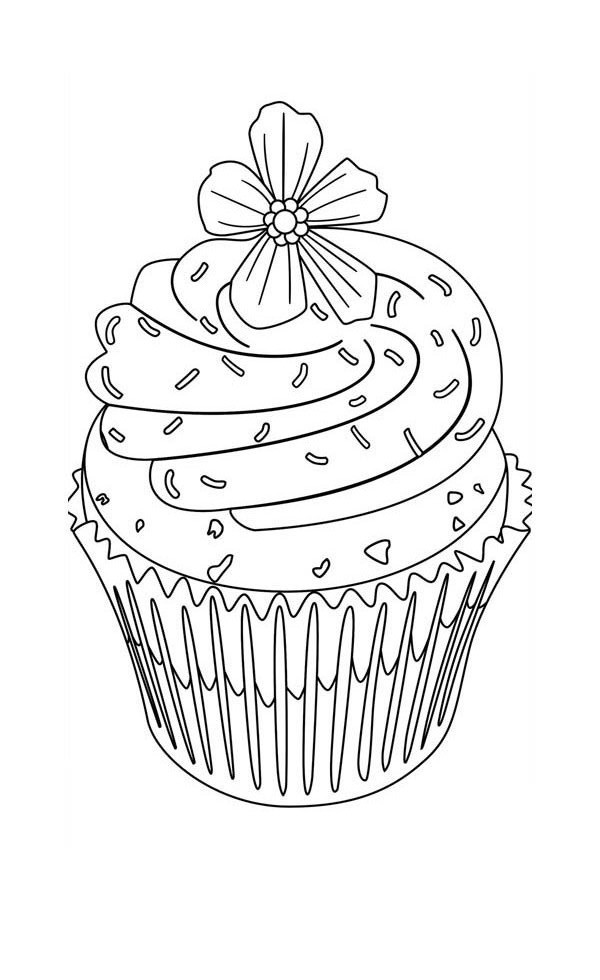 coloring pages cupcakes cupcake printable coloring pages coloring home cupcakes pages coloring