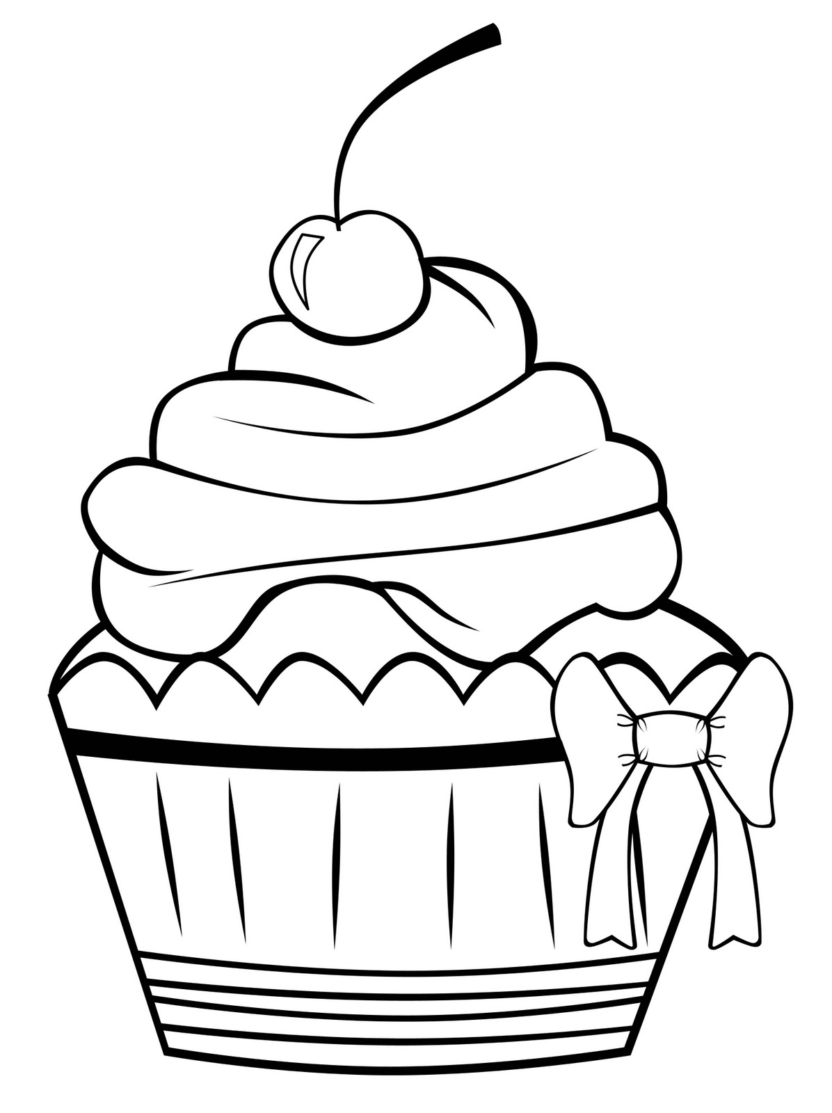 coloring pages cupcakes cupcakes and cakes for kids cupcakes and cakes kids pages cupcakes coloring