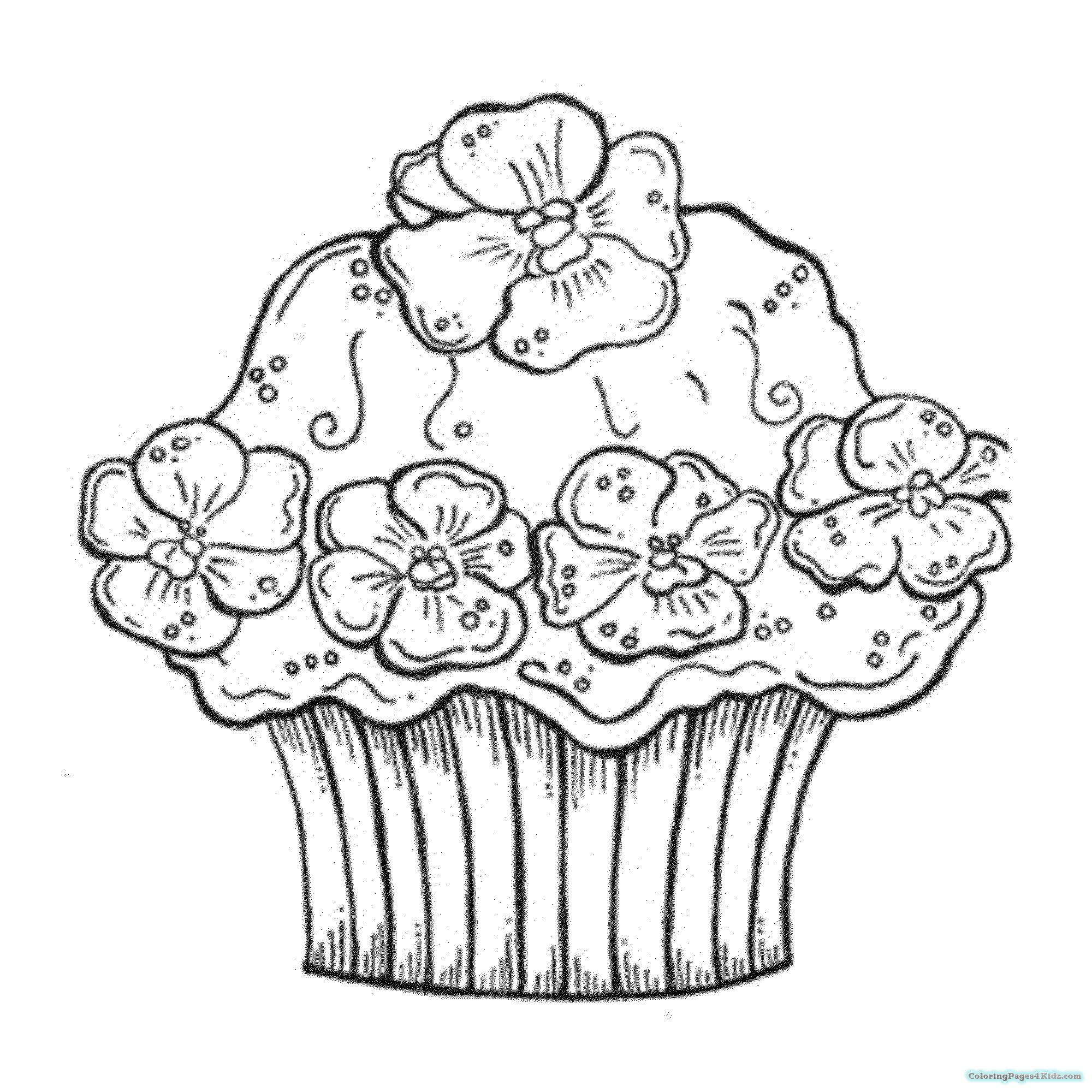 coloring pages cupcakes cupcakes netart part 2 coloring cupcakes pages