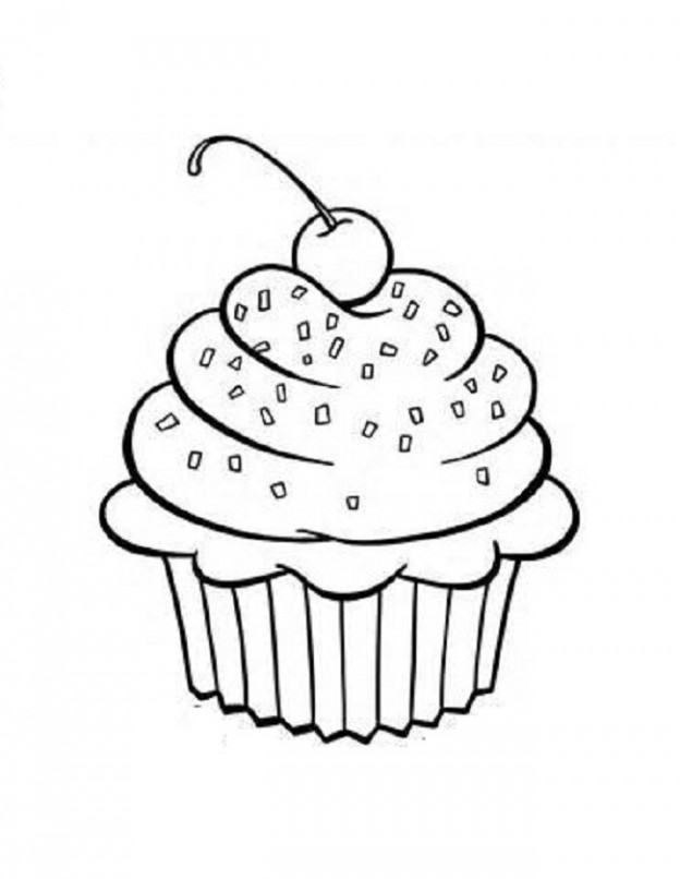 coloring pages cupcakes cute cupcake coloring pages coloring home coloring cupcakes pages