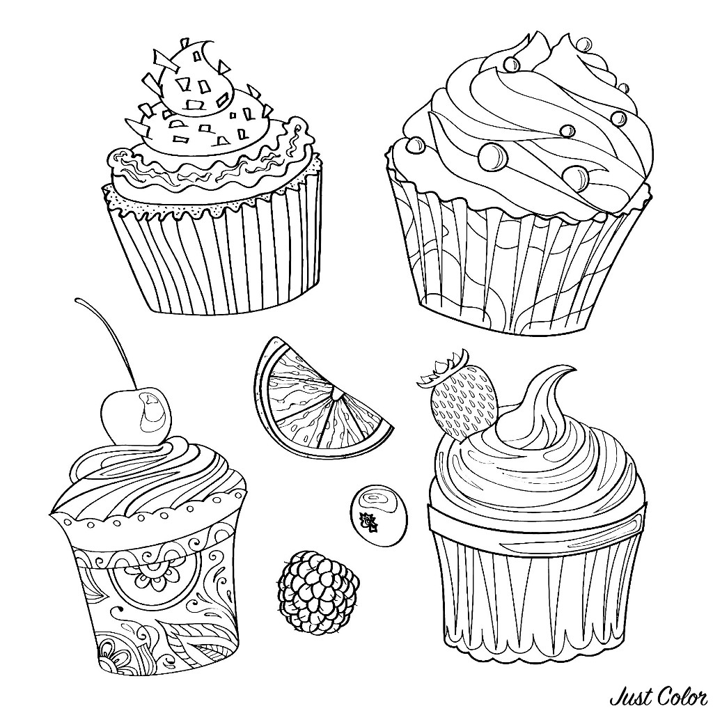 coloring pages cupcakes free easy to print cupcake coloring pages tulamama coloring pages cupcakes
