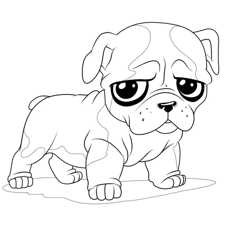 coloring pages cute animals animals coloring pages cute puppy playing kids animals coloring cute pages