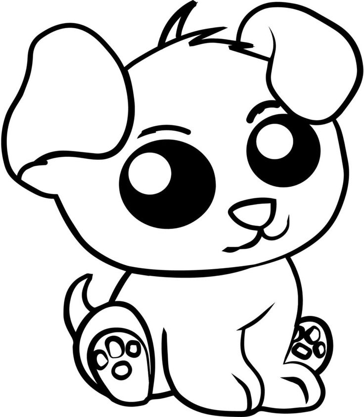 coloring pages cute animals free printable cute animal coloring pages coloring home coloring animals cute pages