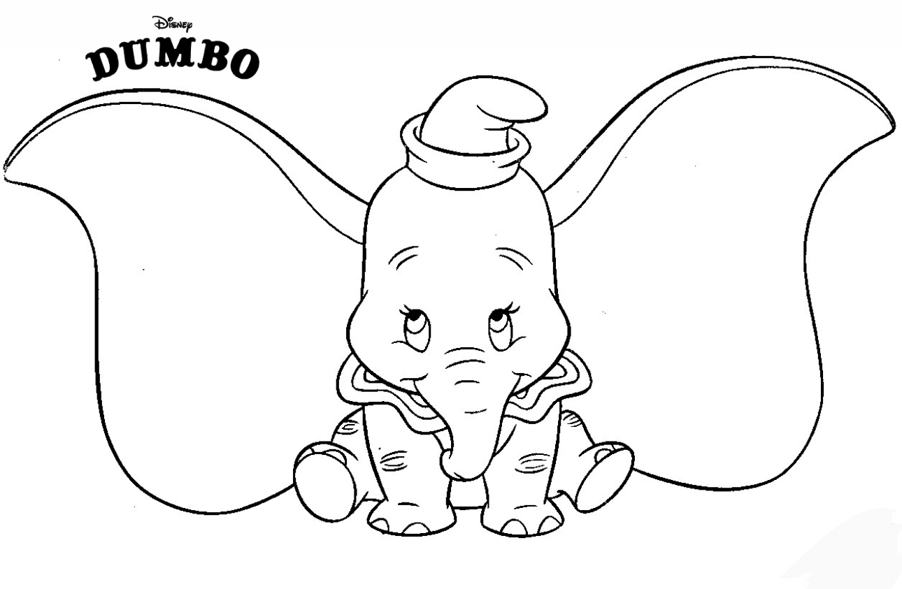 coloring pages disney animals dumbo is cute coloring pages baby elephant on disney39s pages coloring animals disney