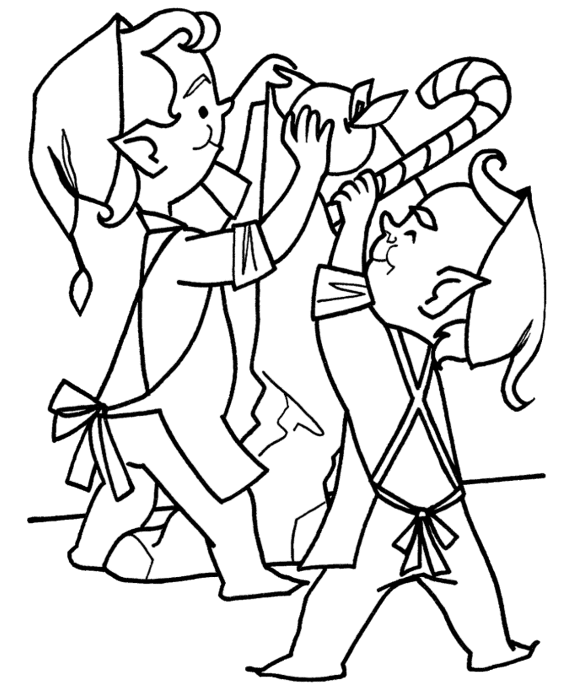 coloring pages elves christmas elf coloring pages printable at getdrawings coloring elves pages