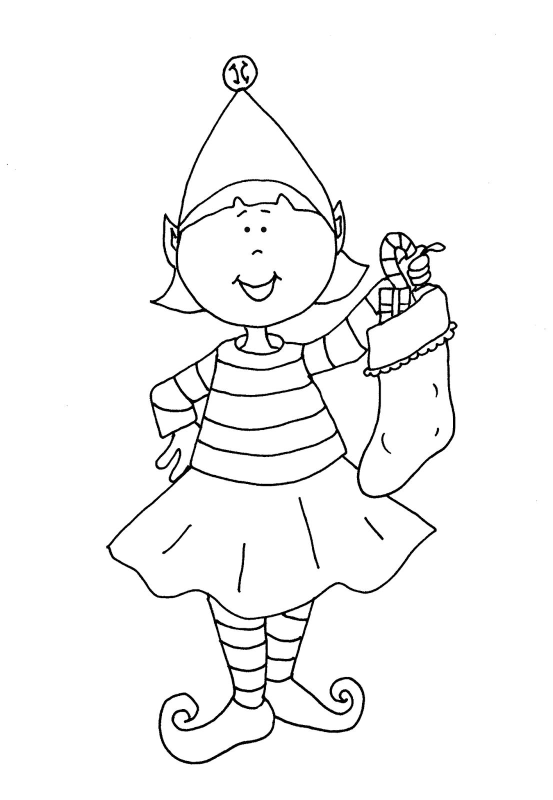coloring pages elves elf line drawing at getdrawings free download coloring pages elves