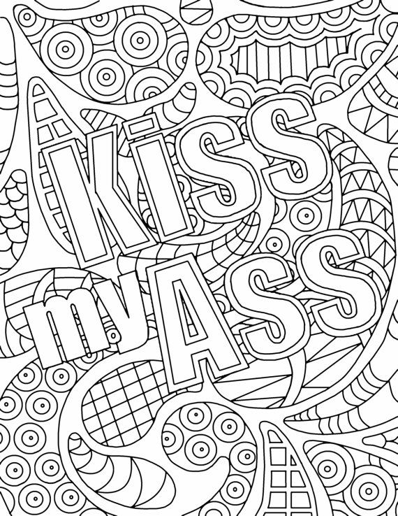 coloring pages for adults cuss words 24 simple adult coloring books in 2020 with images for pages coloring cuss words adults