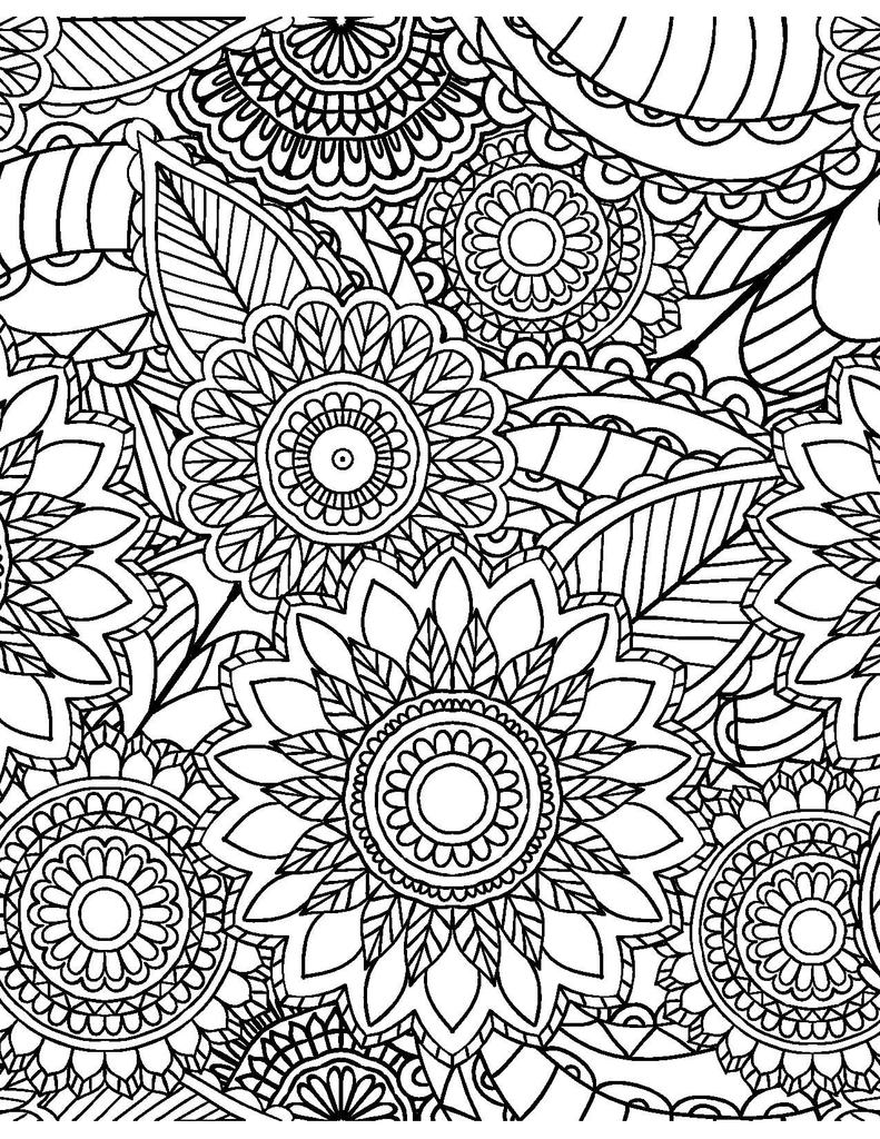 coloring pages for adults patterns cool printable coloring pages for adults at getdrawings coloring for patterns adults pages