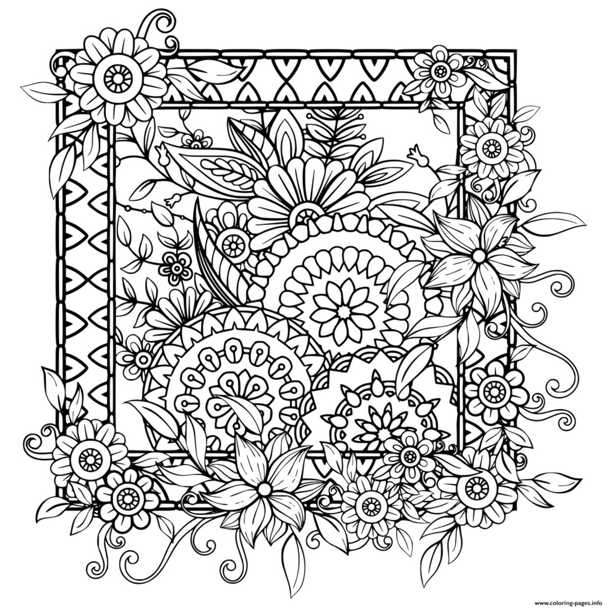 coloring pages for adults patterns floral coloring pages for adults best coloring pages for pages for coloring patterns adults