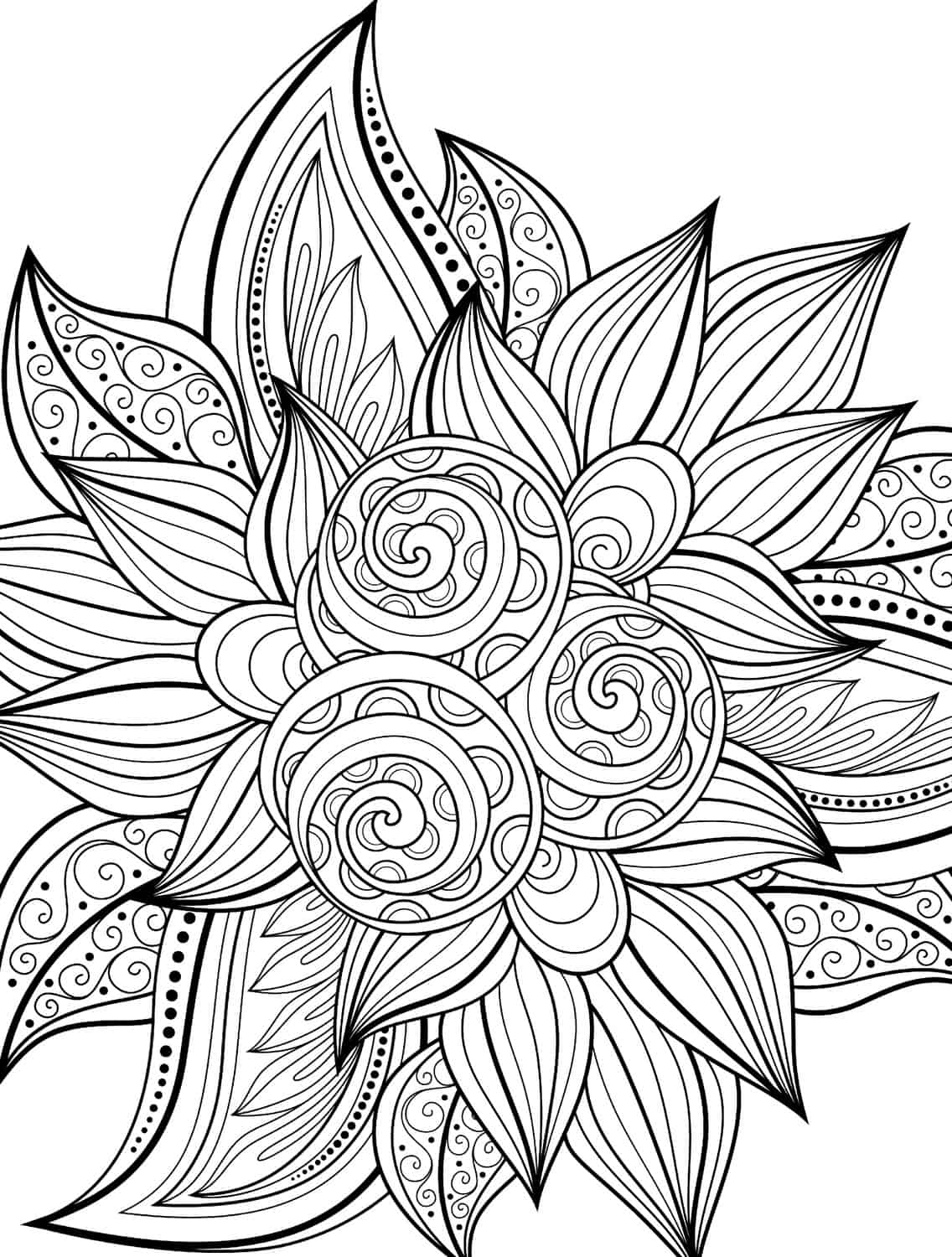 coloring pages for adults patterns flower coloring pages for adults best coloring pages for adults patterns coloring pages for