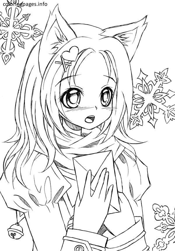 coloring pages for girls cat anime cat girl coloring pages 417 cat coloring pages cat for girls pages coloring