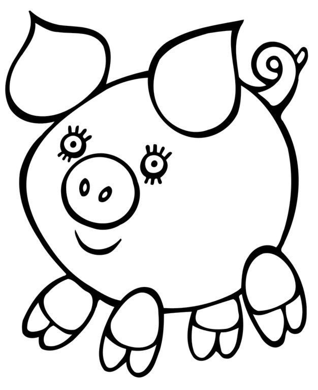 coloring pages for kids easy images of easy drawings clipartsco easy for pages coloring kids