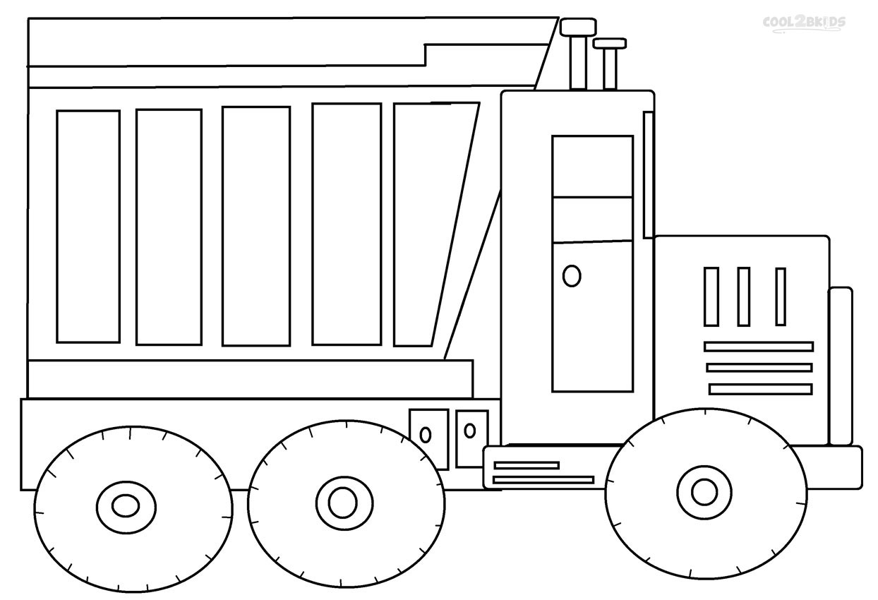 coloring pages for kids truck construction truck tonka coloring page for kids kids pages truck for coloring