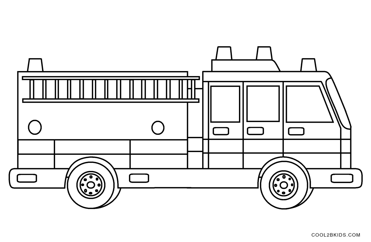 coloring pages for kids truck free printable fire truck coloring pages for kids for pages kids truck coloring