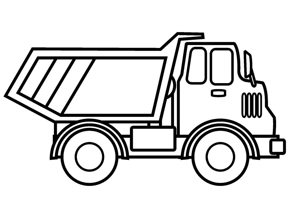 coloring pages for kids truck mack truck coloring pages at getcoloringscom free pages coloring truck kids for