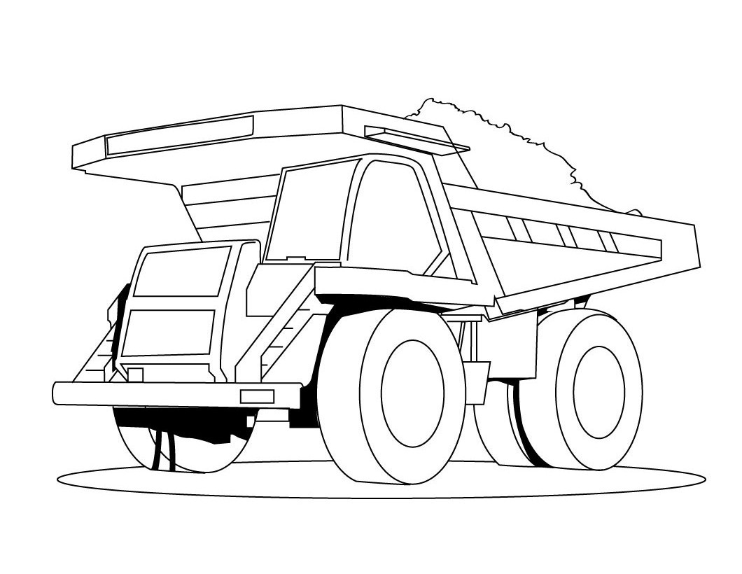 coloring pages for kids truck printable dump truck coloring pages for kids cool2bkids pages truck for coloring kids