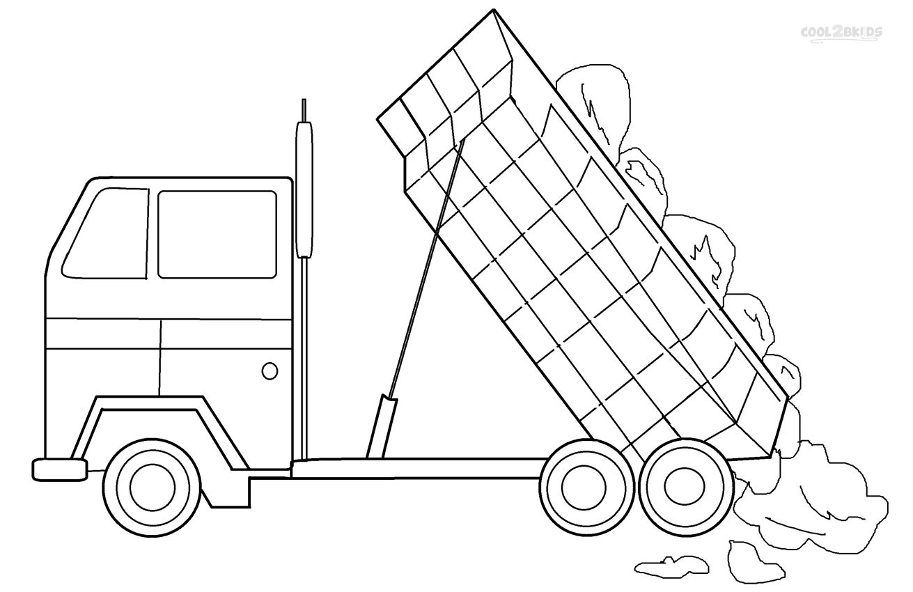 coloring pages for kids truck truck coloring pages coloringpages1001com pages for truck kids coloring