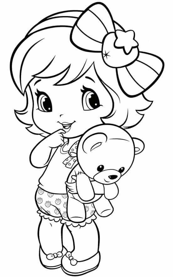 coloring pages for little girls coloring pages little girl desenhos infantis para coloring girls pages for little