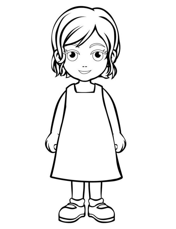 coloring pages for little girls little girl coloring pages for girls people coloring coloring pages little for girls