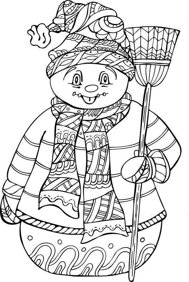 coloring pages for seniors snowman coloring pages for adults at getcoloringscom coloring pages for seniors