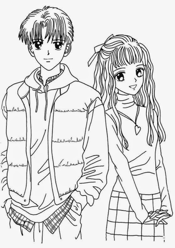coloring pages of anime free printable anime coloring pages for kids of coloring pages anime
