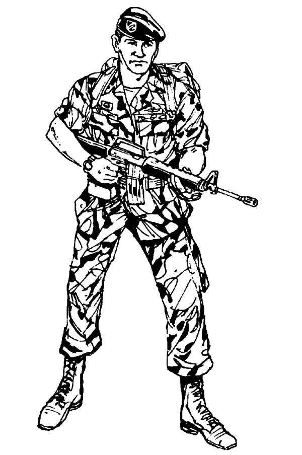 coloring pages of army soldiers cartoon soldier drawing at getdrawings free download pages of army coloring soldiers