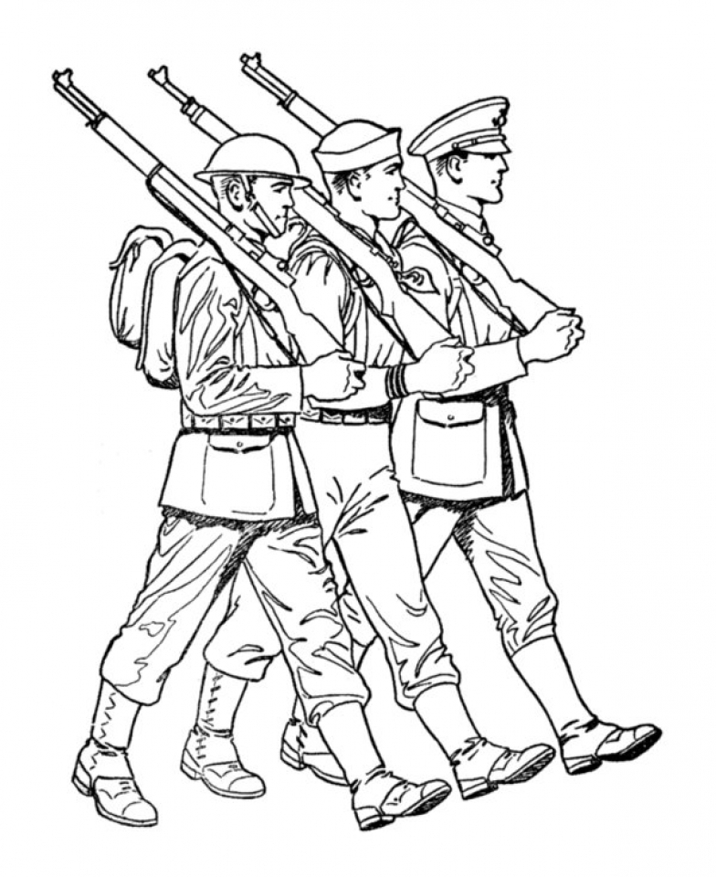 coloring pages of army soldiers free printable army coloring pages for kids of coloring army soldiers pages