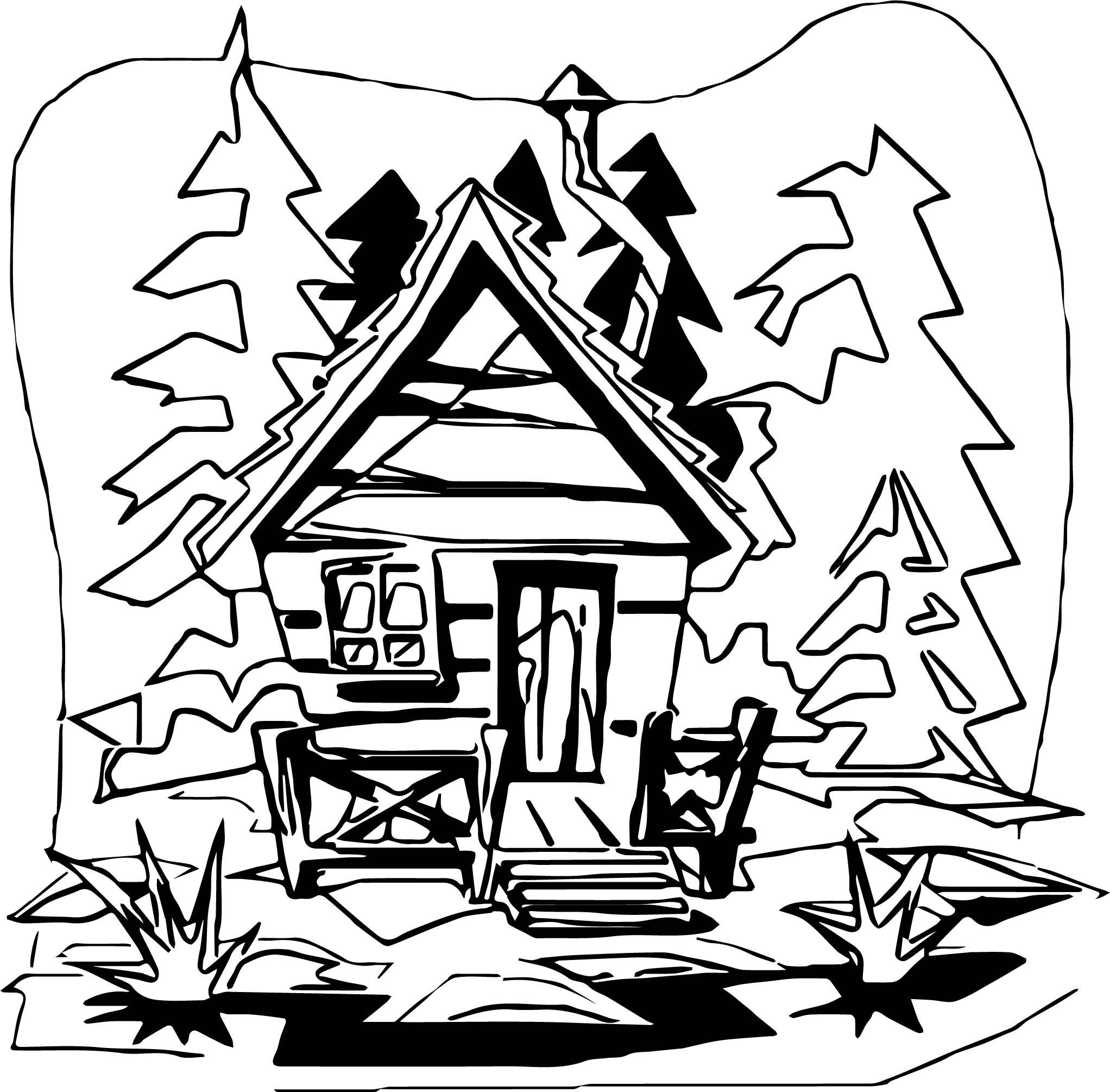 coloring pages of cabins 1000 images about coloriages home on pinterest coloring coloring cabins of pages