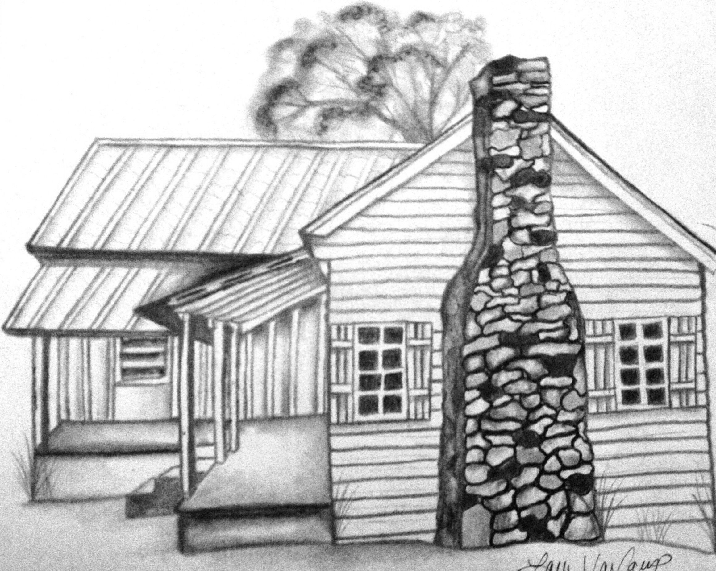 coloring pages of cabins cabin in the woods drawing at getdrawings free download pages of coloring cabins