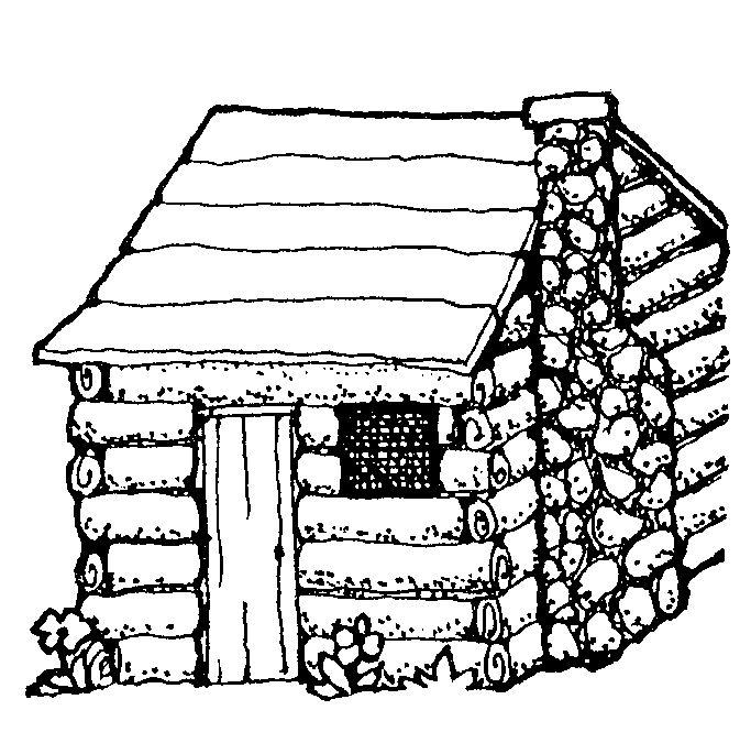 coloring pages of cabins log cabin coloring page at getcoloringscom free coloring pages of cabins