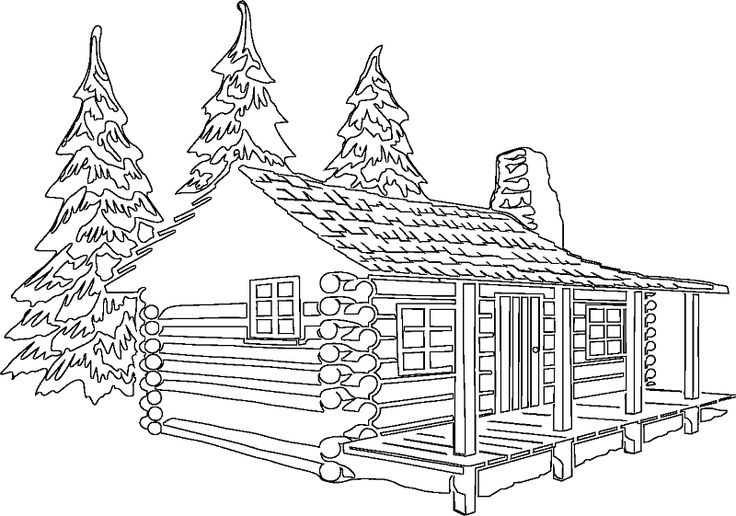 coloring pages of cabins log cabin coloring page free printable coloring pages of pages coloring cabins