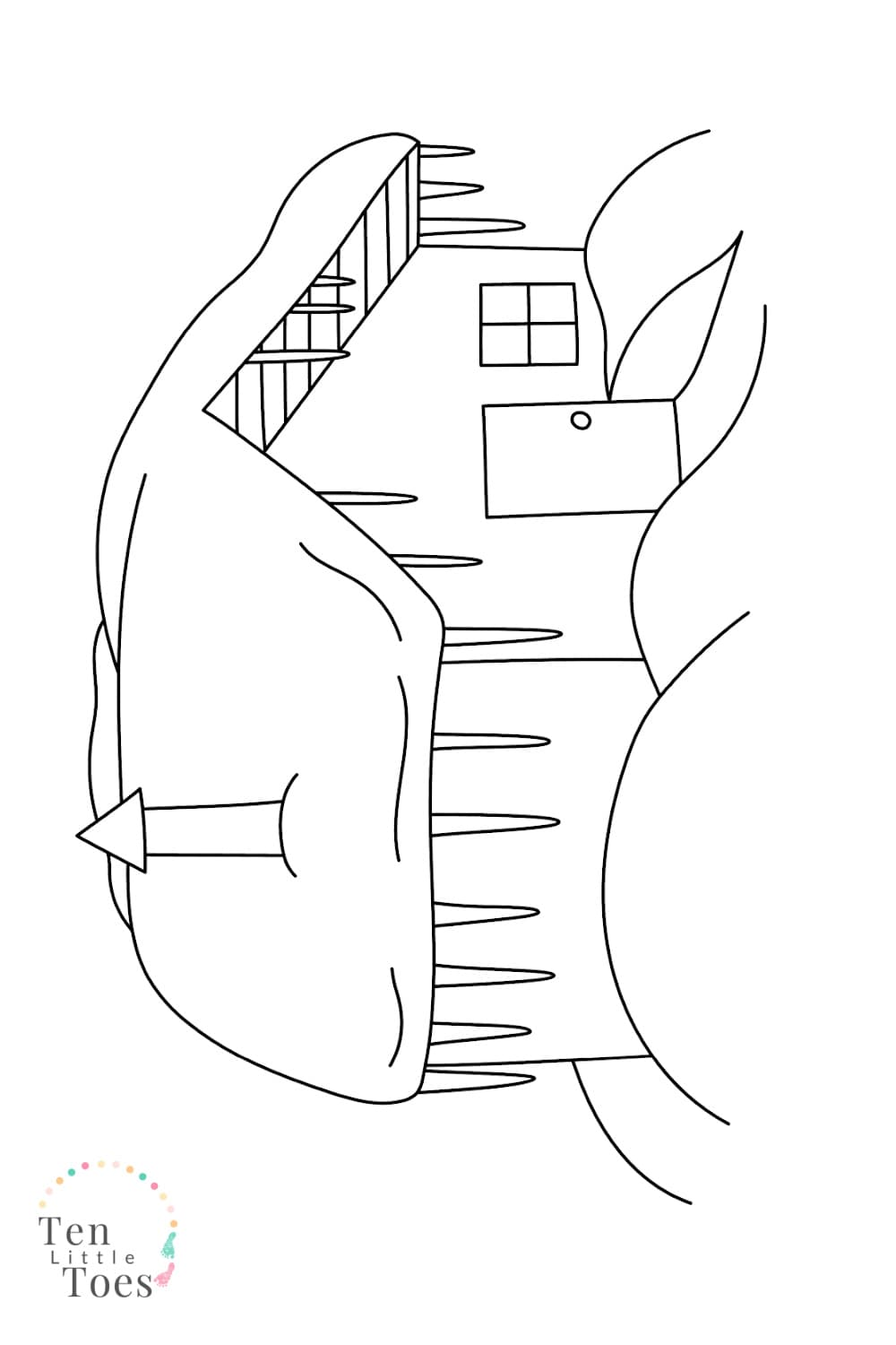 coloring pages of cabins simple log cabin coloring page for kids and adults coloring of cabins pages