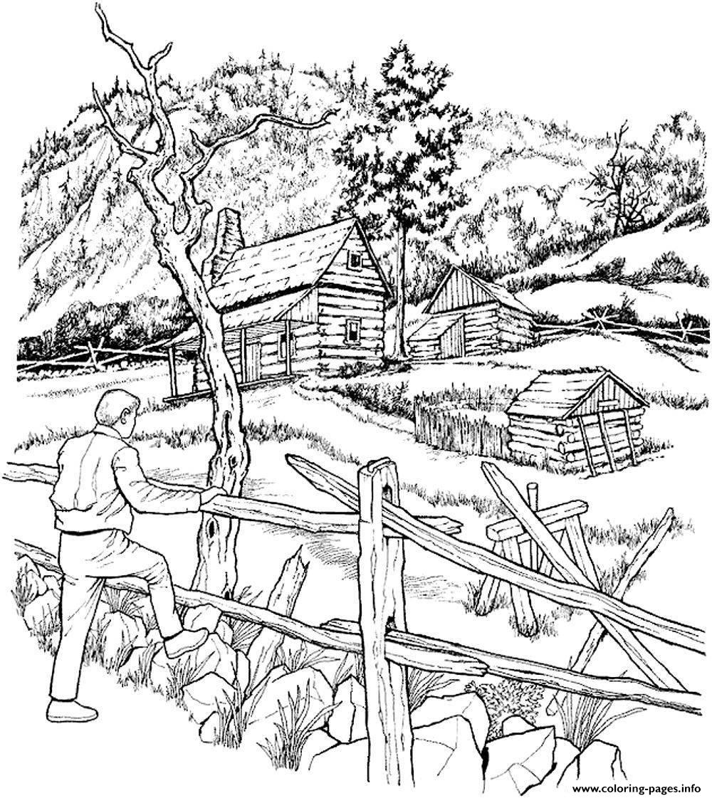 coloring pages of cabins winter cabin coloring page free coloring pages online coloring cabins of pages