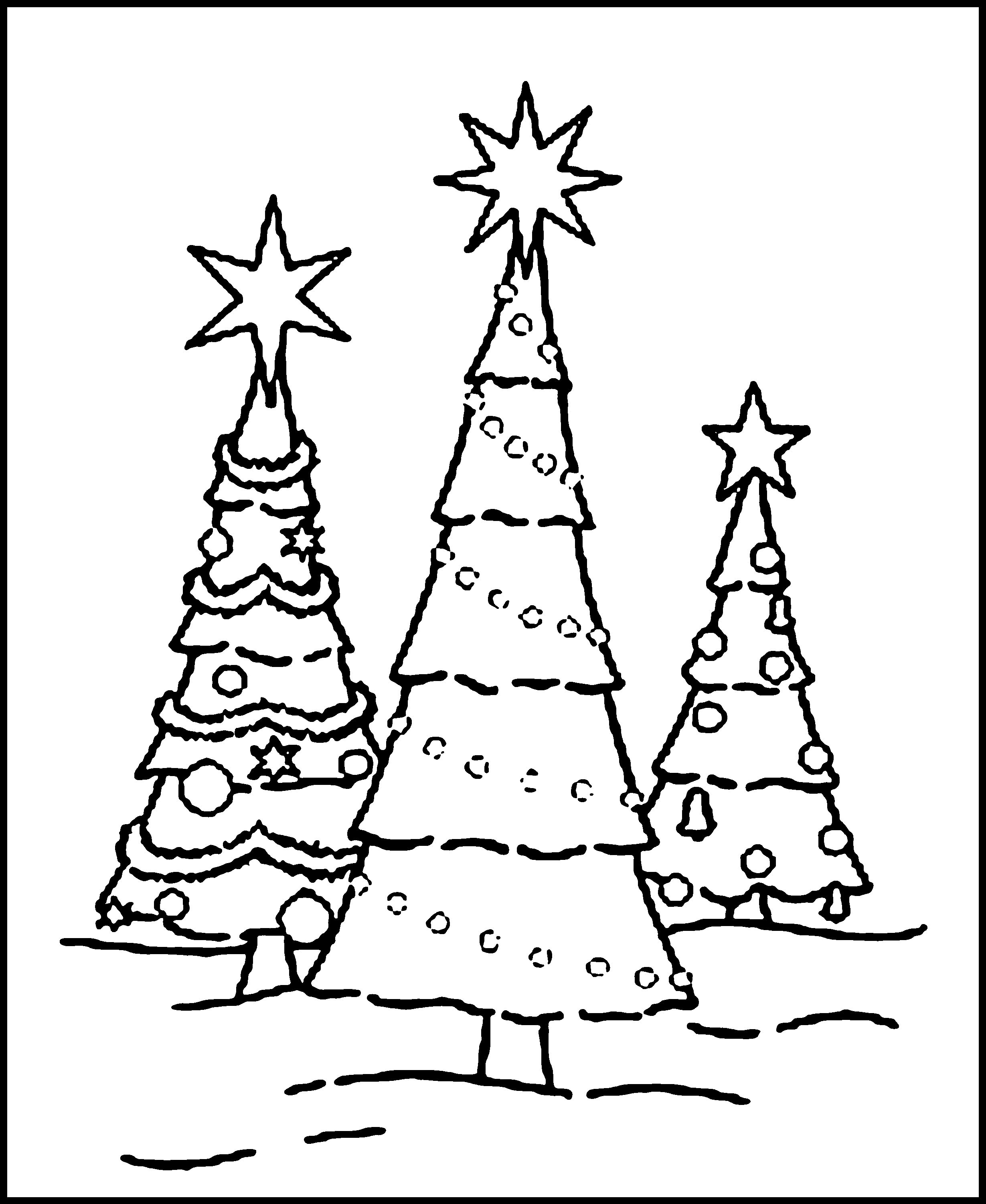 coloring pages of christmas trees best christmas tree outline 7029 clipartioncom of trees pages christmas coloring