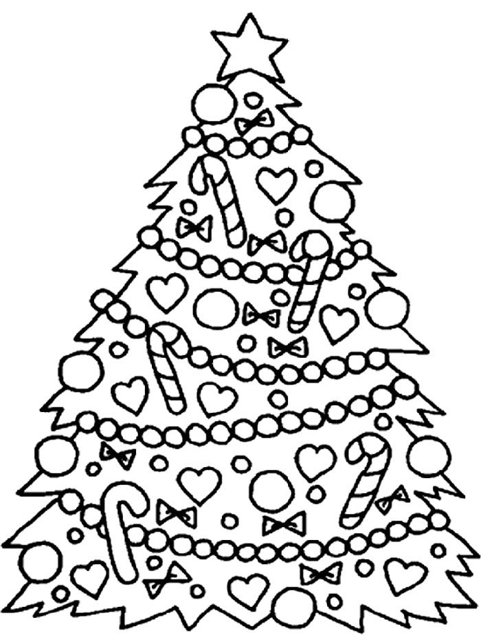 coloring pages of christmas trees big christmas tree coloring pages coloring home of coloring christmas pages trees
