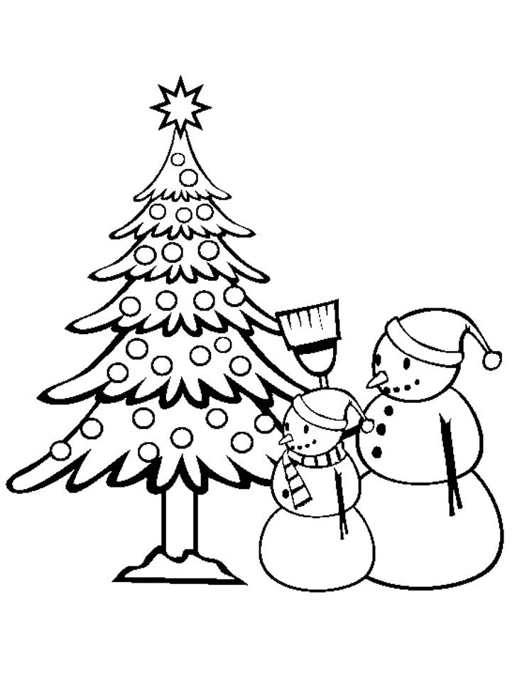 coloring pages of christmas trees christmas tree coloring page free printable coloring pages pages christmas of coloring trees