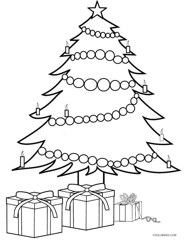 coloring pages of christmas trees decorated christmas tree pages coloring pages of christmas coloring trees pages