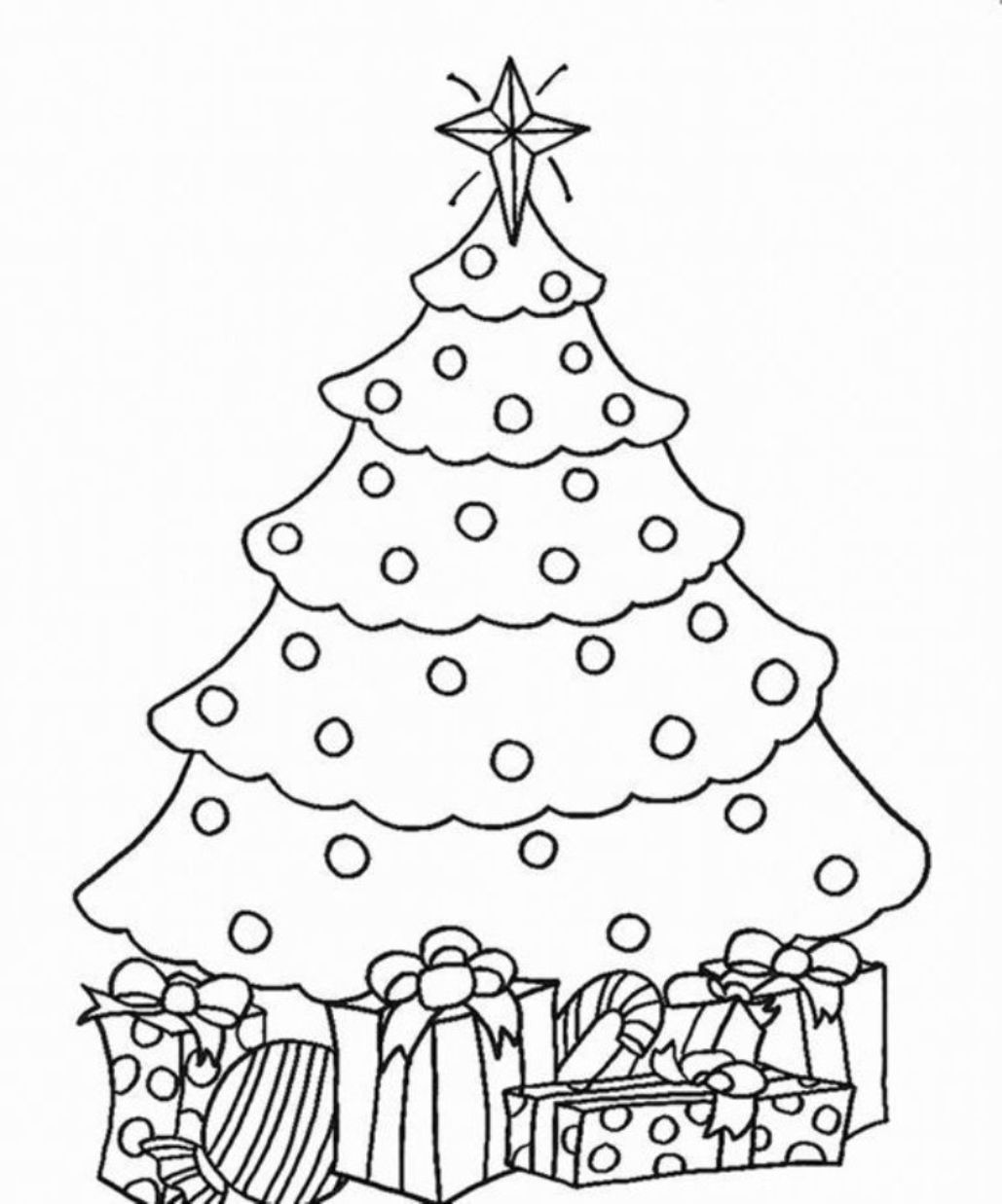 coloring pages of christmas trees free easy to print christmas tree coloring pages tulamama coloring pages trees of christmas