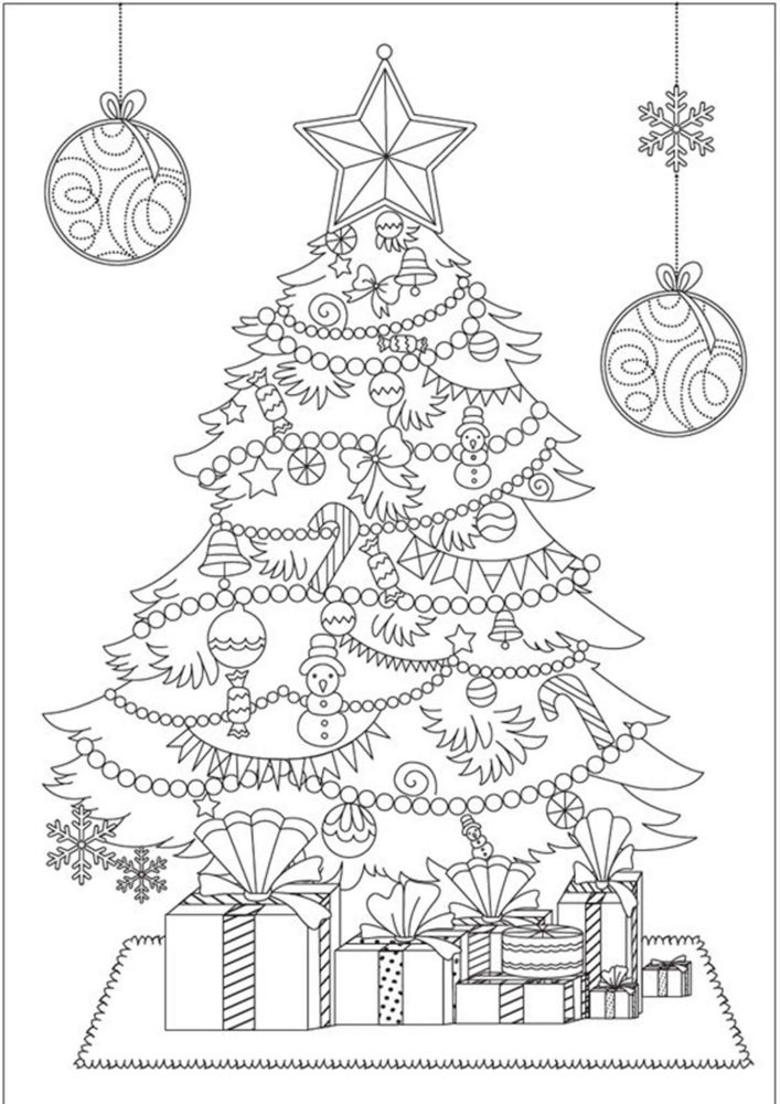 coloring pages of christmas trees hd wallpapers bring beauty to your desktop free coloring trees christmas pages of