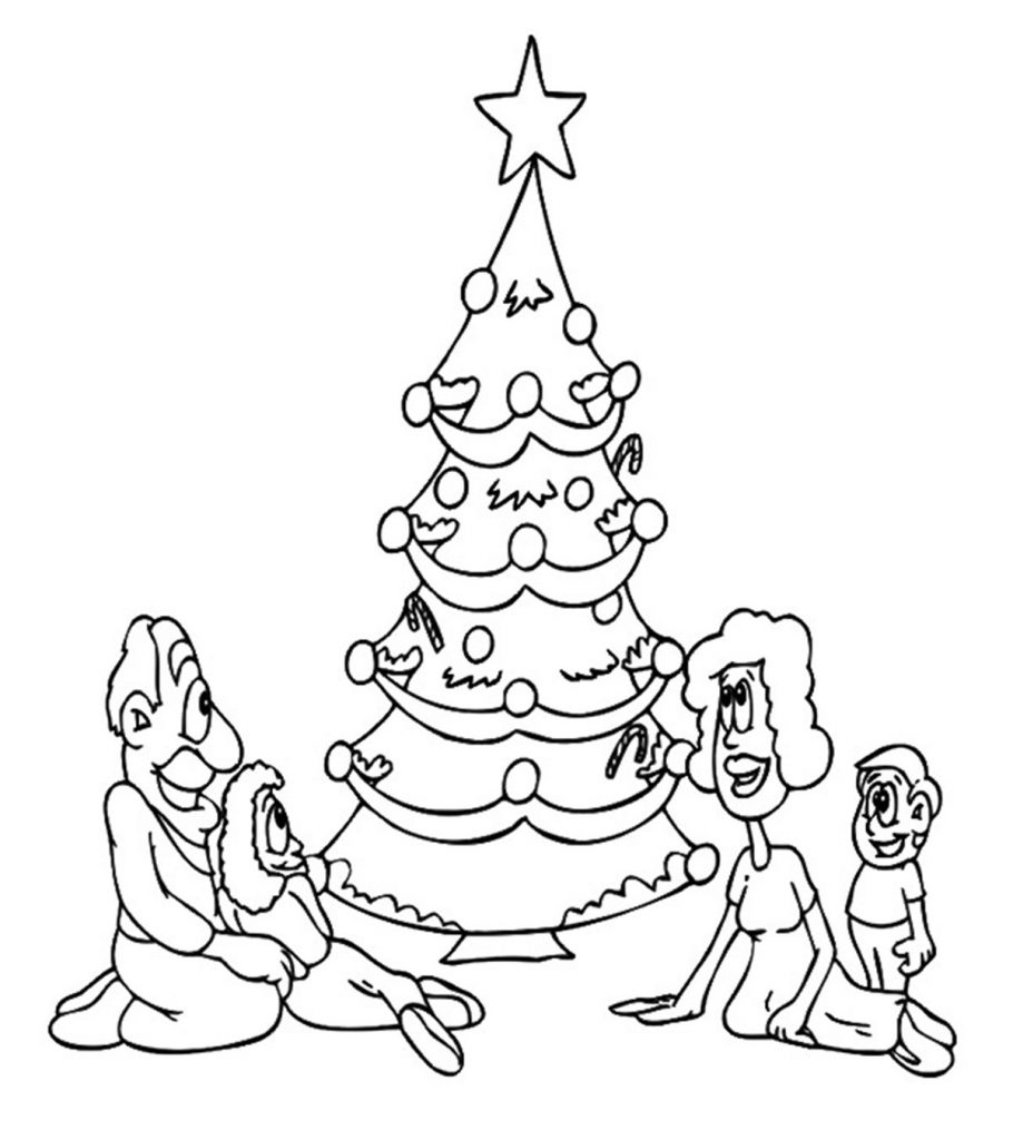 coloring pages of christmas trees kids christmas tree coloring page at getcoloringscom coloring of pages trees christmas