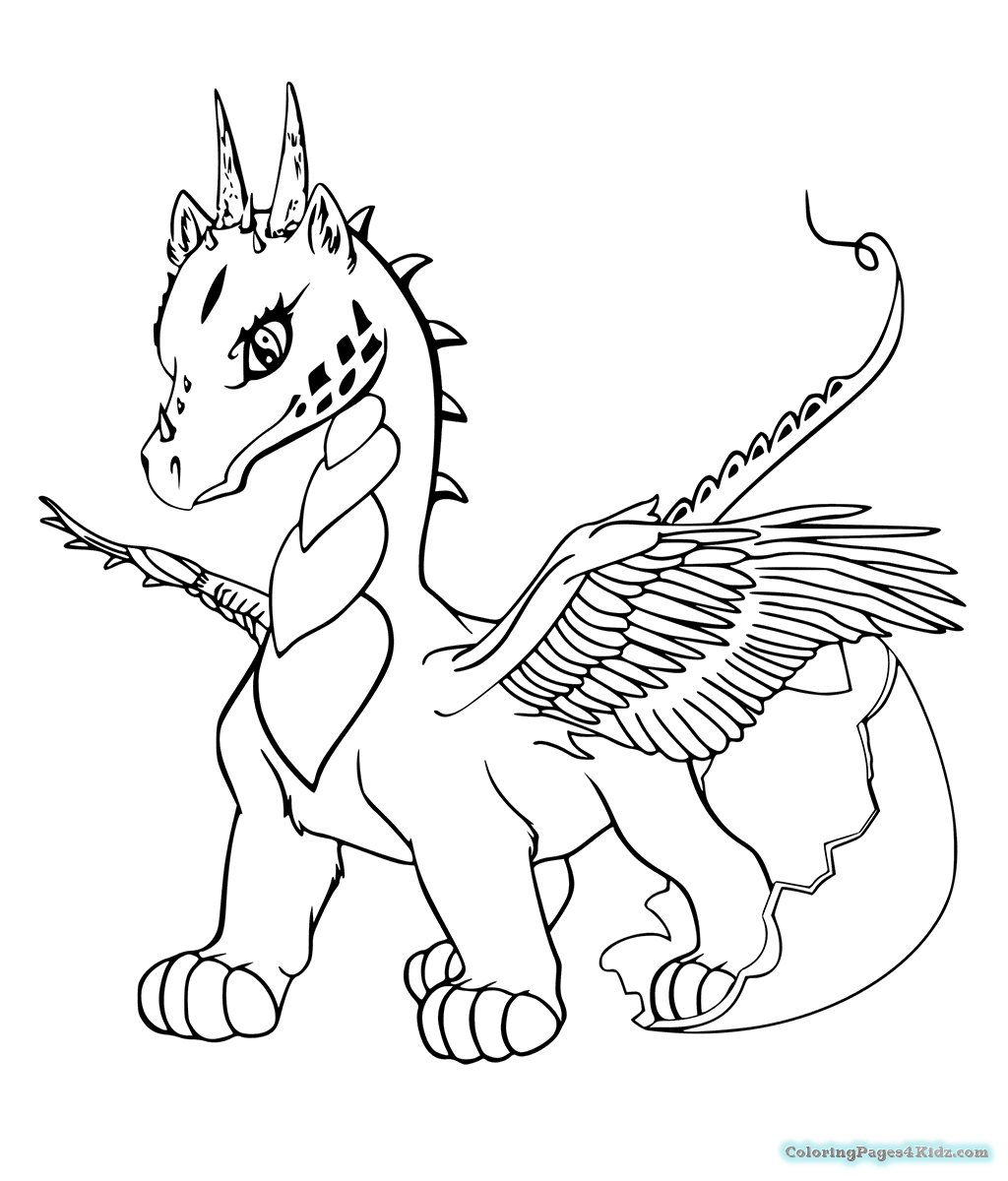 coloring pages of cute dragons baby dragon coloring pages to download and print for free of pages dragons coloring cute