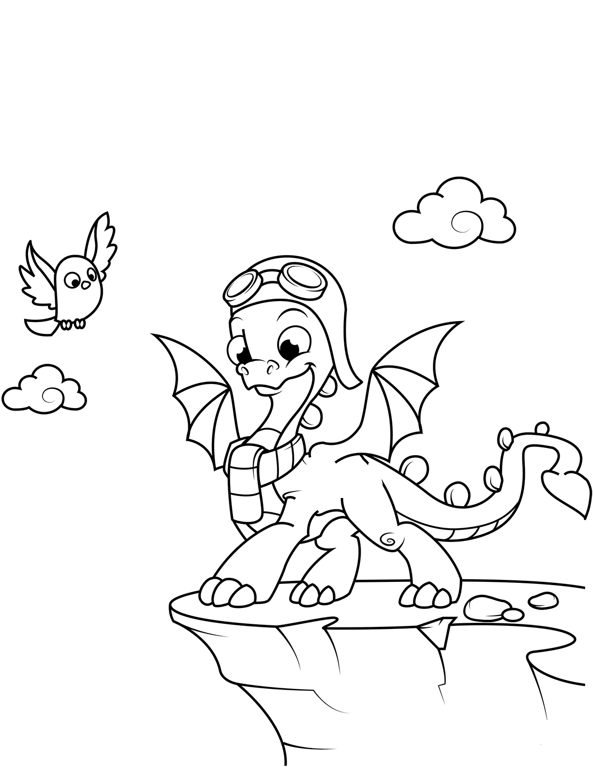 coloring pages of cute dragons cute baby dragon coloring pages at getcoloringscom free of pages cute dragons coloring