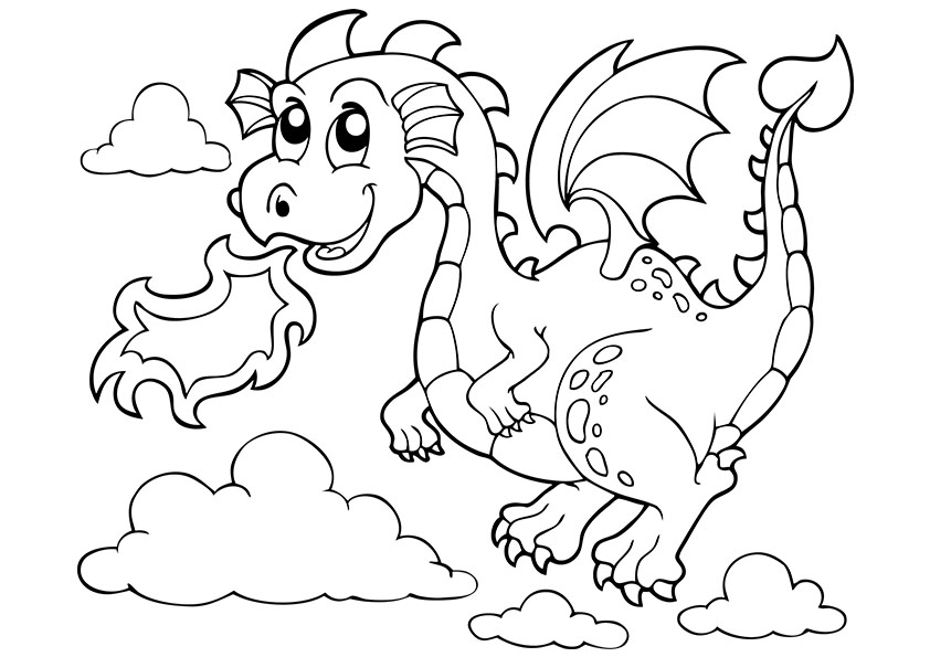 coloring pages of cute dragons cute baby dragon coloring pages printable of coloring dragons cute pages