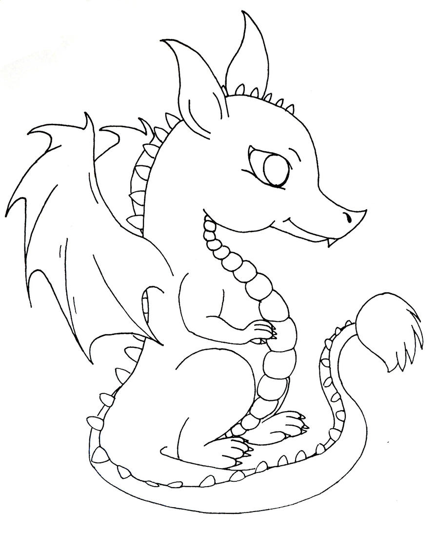 coloring pages of cute dragons cute colorable dragon free clip art cute pages of coloring dragons