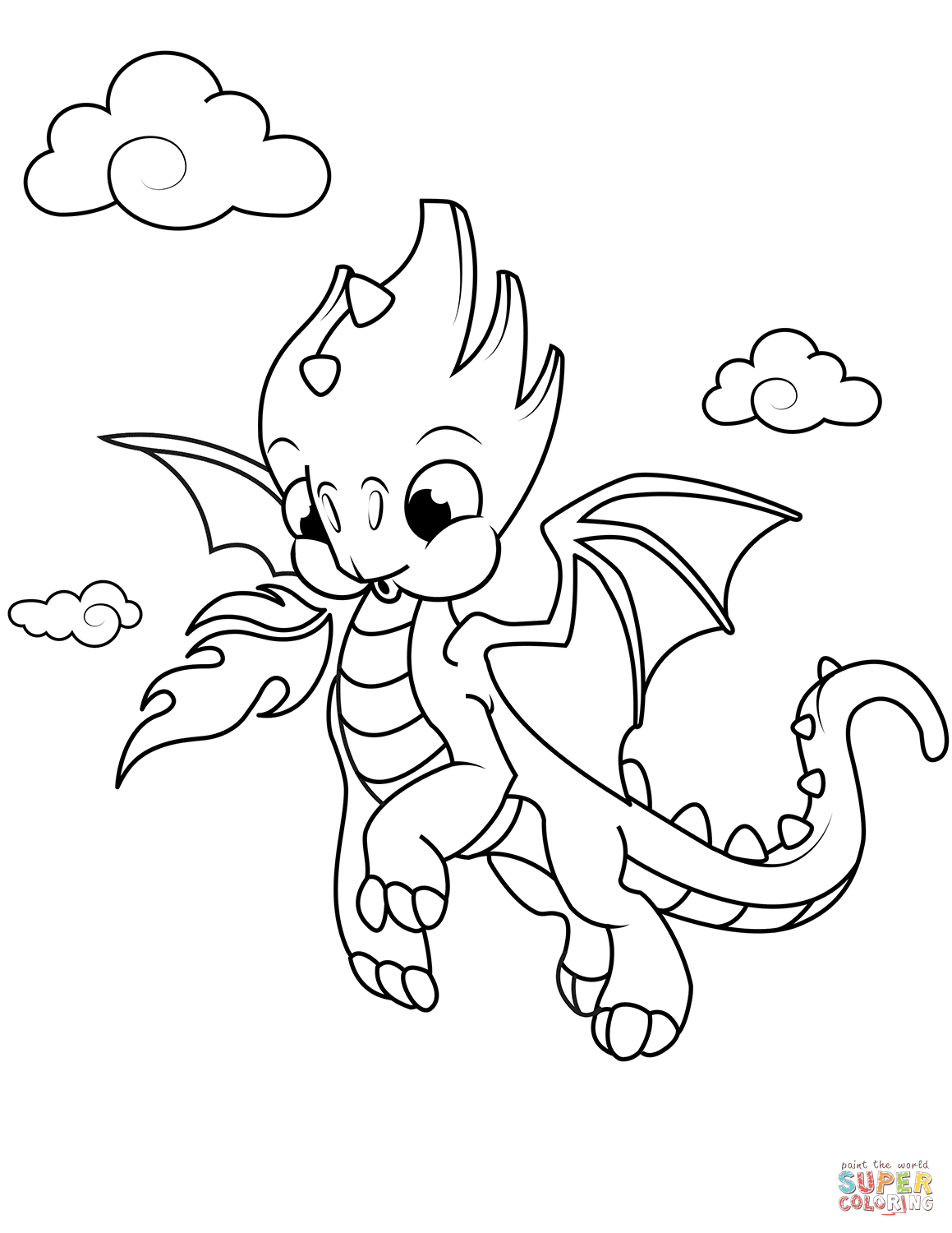 coloring pages of cute dragons cute dragon coloring pages get coloring pages pages dragons cute coloring of