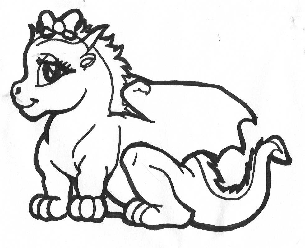 coloring pages of cute dragons cute dragon coloring pages getcoloringpagescom of coloring cute pages dragons