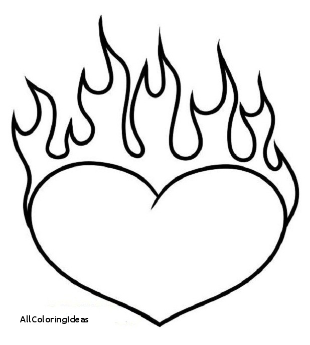 coloring pages of hearts with flames hearts on fire coloring sheets hearts on fire coloring of with flames coloring hearts pages