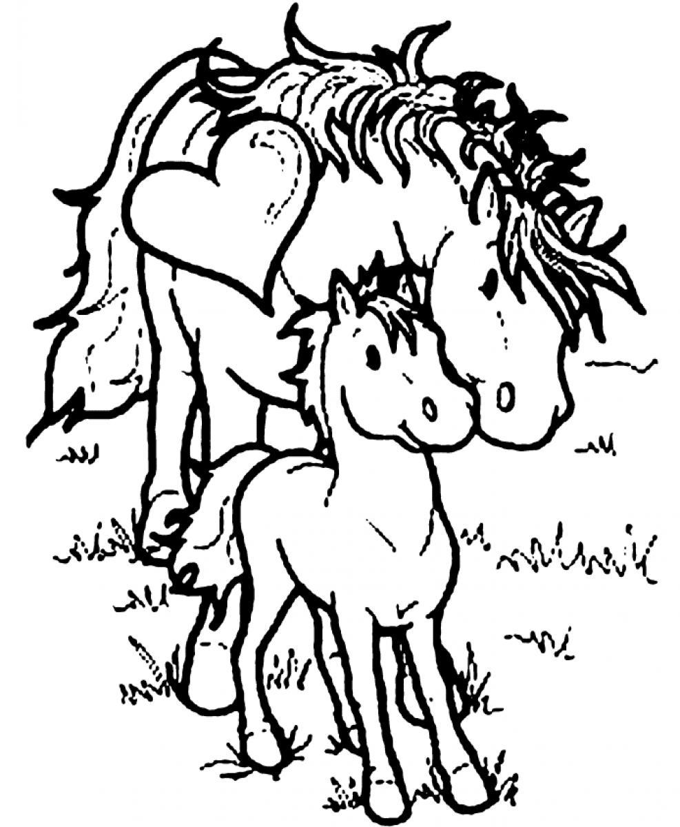 coloring pages of horses to print coloring pages of horses to print of print coloring horses to pages
