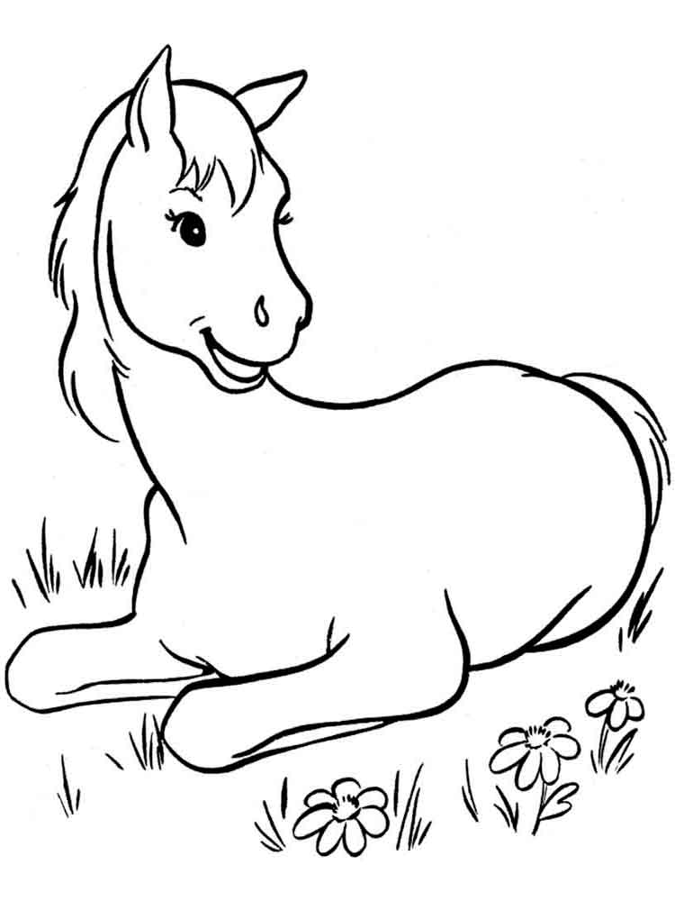 coloring pages of horses to print cute horse coloring pages at getcoloringscom free to coloring pages print of horses